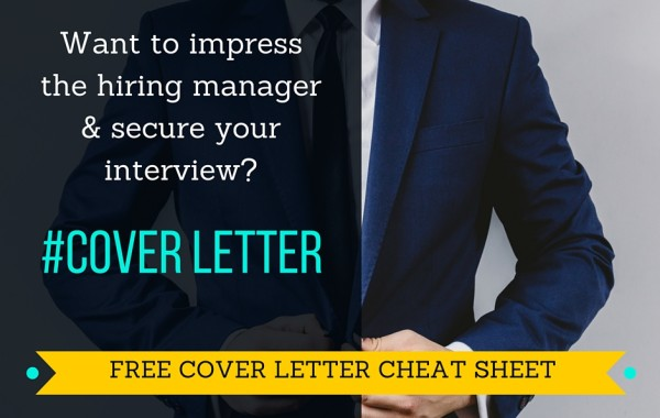 Cover Letter Cheat Sheet