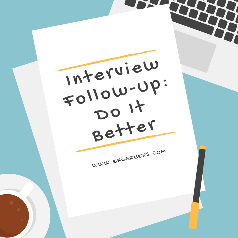 how to do a follow up call after interview