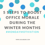 5 Steps to Boost Office Morale During the Winter Months