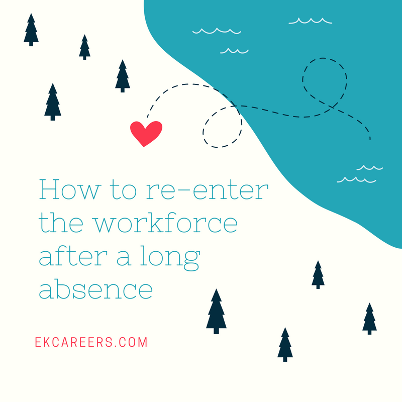 how to re-enter the workforce after a long absence